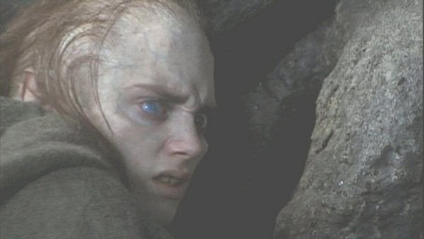 What Frodo would have looked like as Gollum