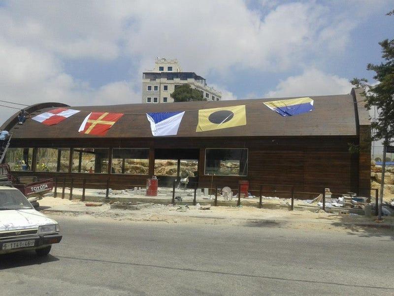 Mindeközben Ramallahban megnyílt a Krusty Krab pontos mása