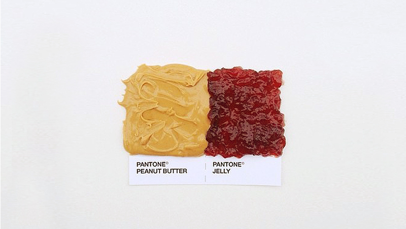 Pantone Food Pairings Are The Perfect Snacks for Designers