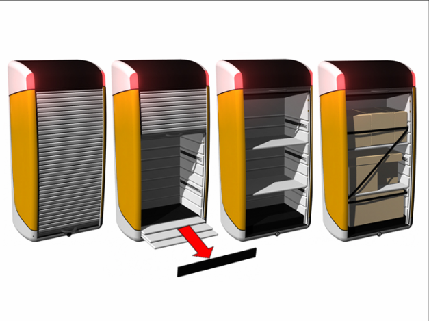 CarGo: Configurable Urban Delivery Vehicle Concept