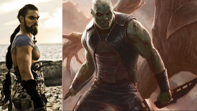 Khal Drogo cast as Drax the Destroyer in Guardians Of The Galaxy