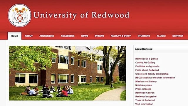 Fake College Copies a Real College's Website to Steal Money from Students
