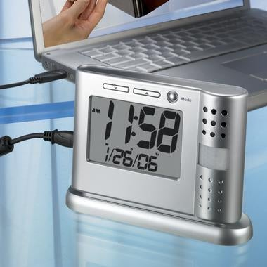 Security Camcorder Clock: Motion Activated, Only Records Fast Sex By Default