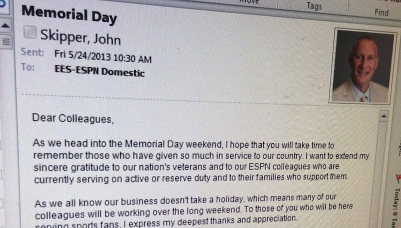 ESPN President's Memo: Support The Troops; Also, We're Firing People