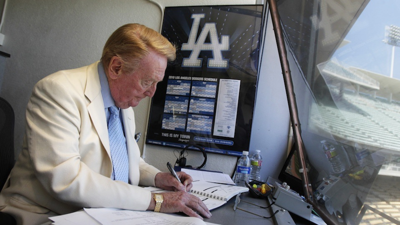 Vin Scully Has A Cold