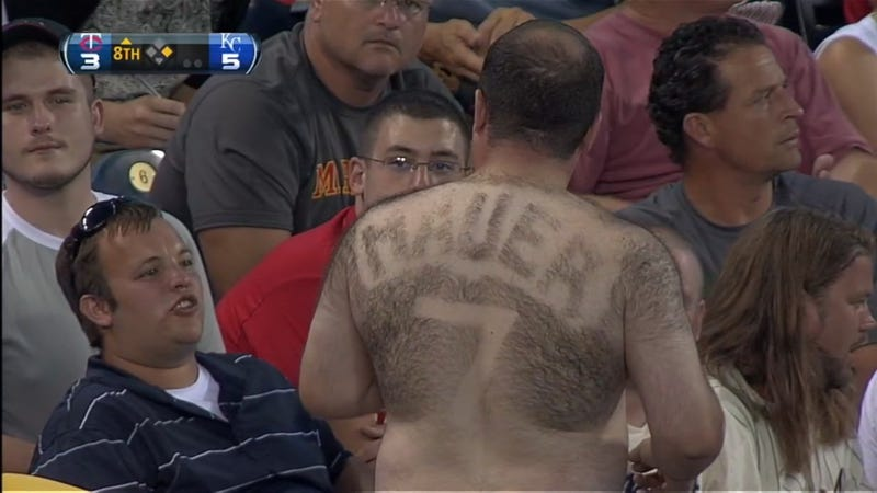 Man Ruins Perfectly Good Sweater With Tribute To Joe Mauer