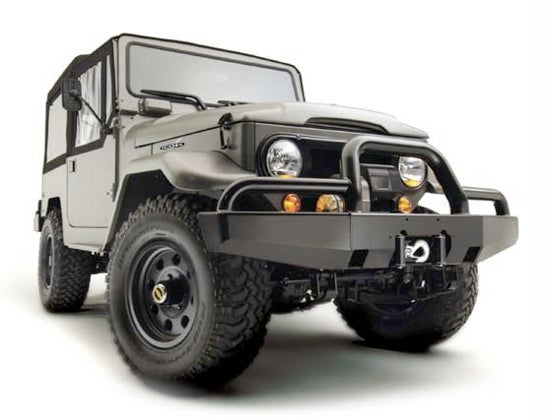 A New Icon: More On TLC's New Replica FJ40