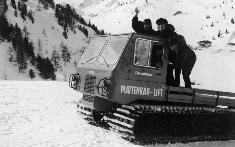 What's The Coolest Vehicle With Caterpillar Tracks?