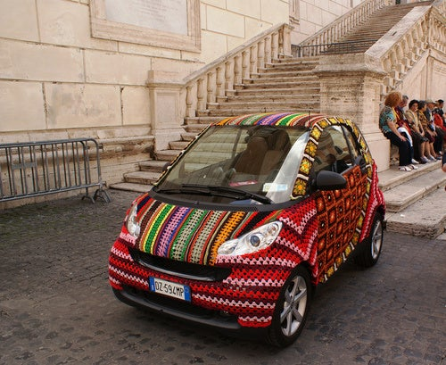 When In Rome, Keep Your Smart Crocheted