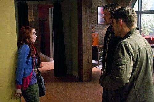 Supernatural Photos With Felicia Day