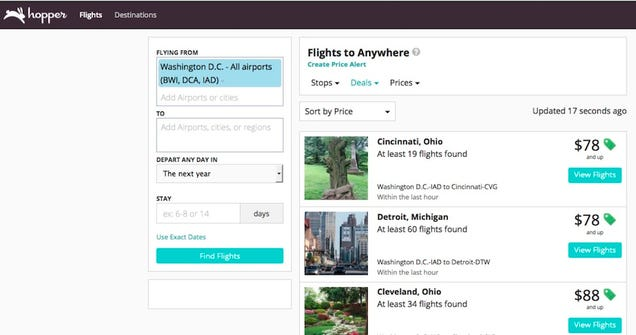 Hopper Flight Explorer Helps You Plan in Advance for Deals on Airfare