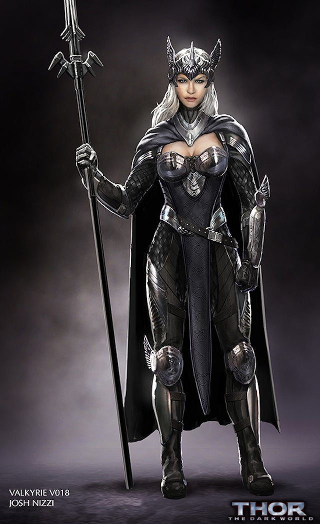 Meet the Valkyrie that was almost in Thor: The Dark World