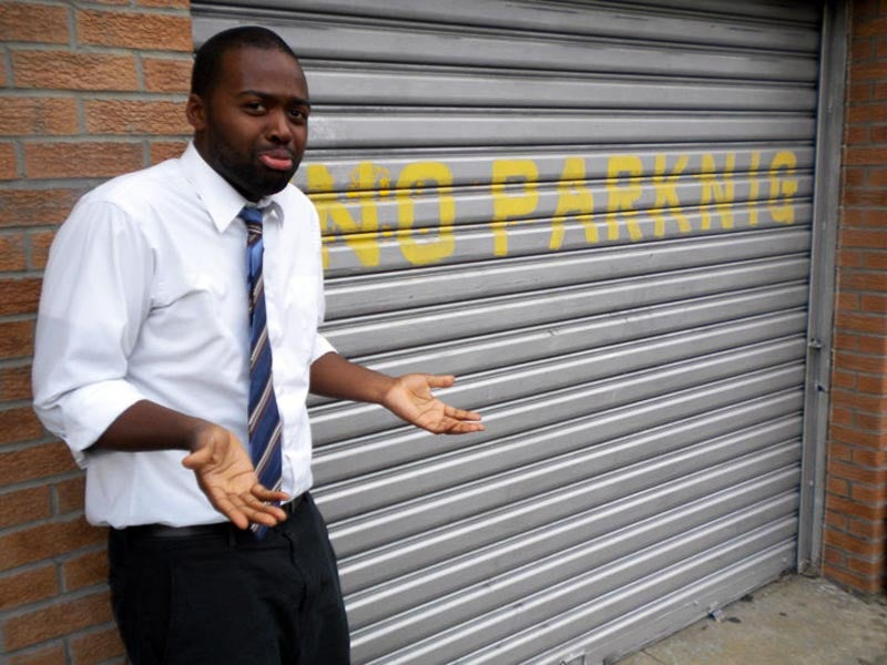 Dang, Garage Door, Why You Gotta Be Racist?