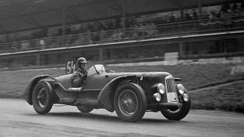 How a blind racer turned secret agent and helped beat the Nazis
