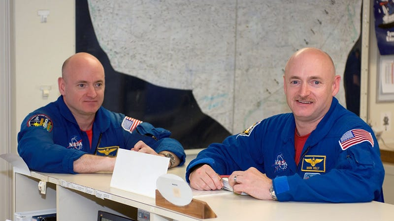 One of these twins is going to space—will he come back different?