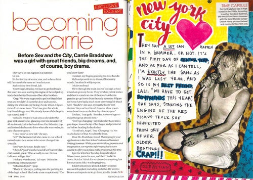 The Carrie Diaries A Bit Dated For Teen Vogue Crowd