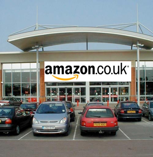 Amazon To Open Physical Store in UK?