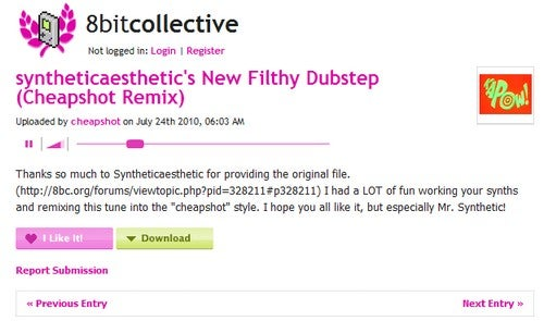 8bitcollective Shares 8-Bit Video Game Style Tunes
