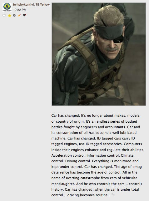 Commenter Of The Day: Syphon Filter Edition