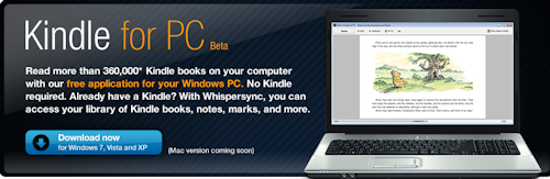 Kindle For PC Beta Now Available to Download