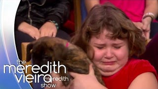 Watch This Little Girl React to Getting a Puppy the Exact Perfect