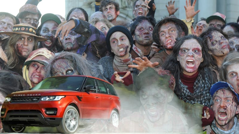 Americans Are Like Ravenous Zombies For Range Rovers