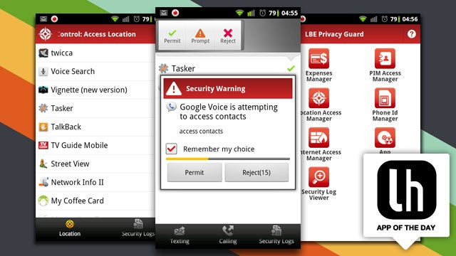 LBE Privacy Guard Monitors and Controls What Permissions Your Android Apps Have