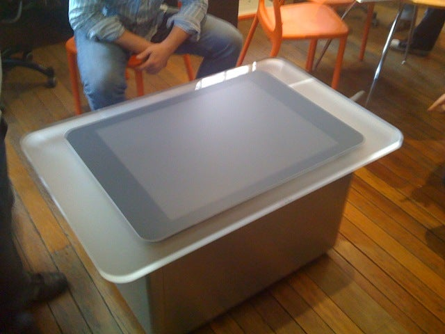 Uncrating the First Surface Table in Australia