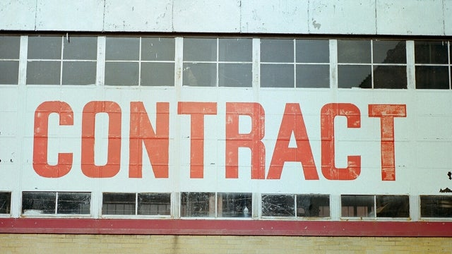 Get Good at Requiring Contracts for Your Work