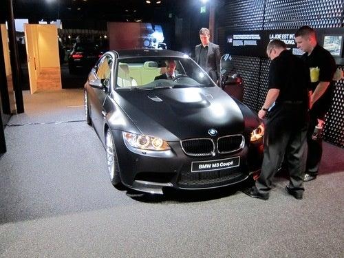 Matte Black BMW M3