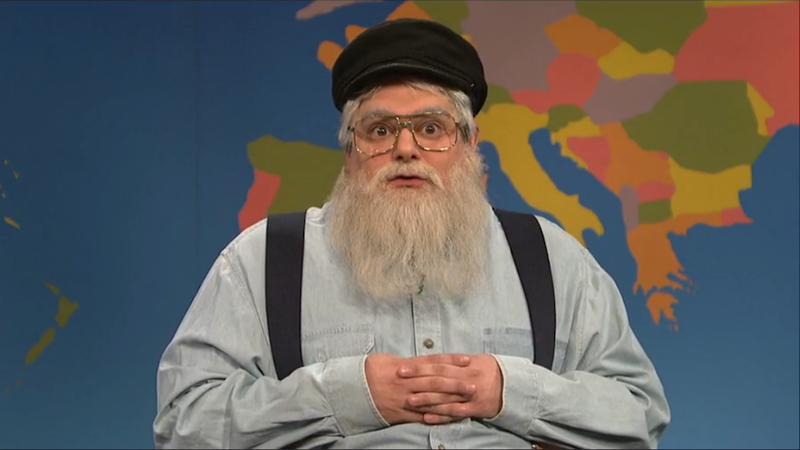 George R.R. Martin Stops by SNL's Weekend Update Desk