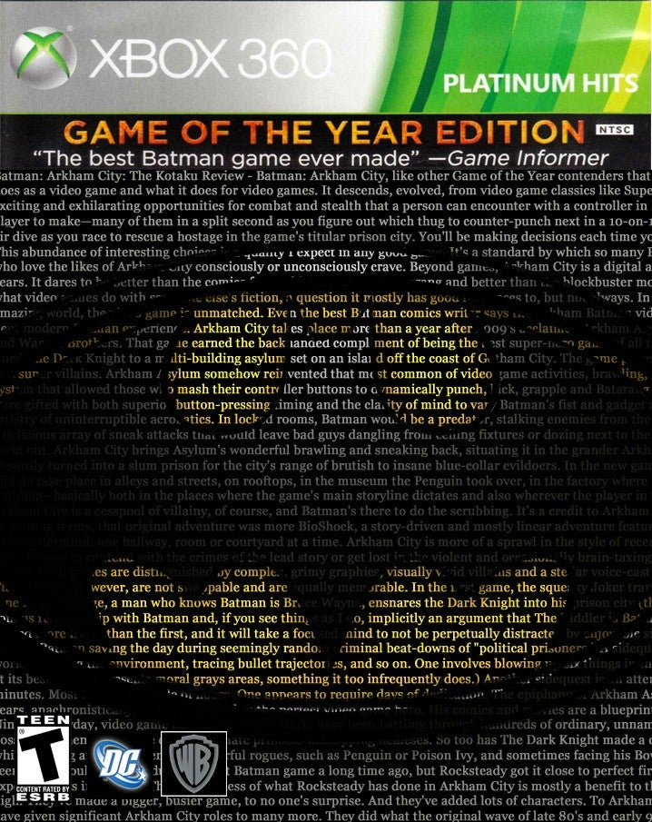 Get Your GOTY: the Winners
