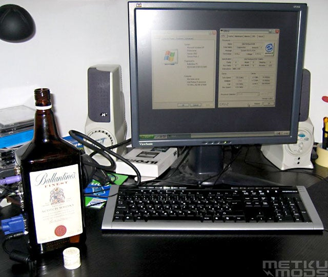 Please, Don't Make a Whiskey PC with a Good Whiskey Bottle