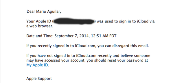 Apple Now Warns You If Your iCloud Is Accessed from the Web