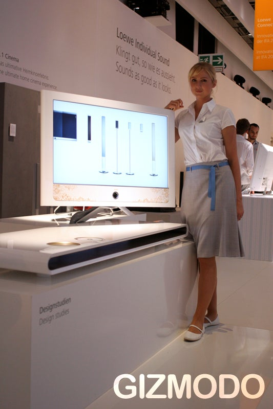 Loewe's Design Studio TVs are Absolutely Fan-Bloody-tastic