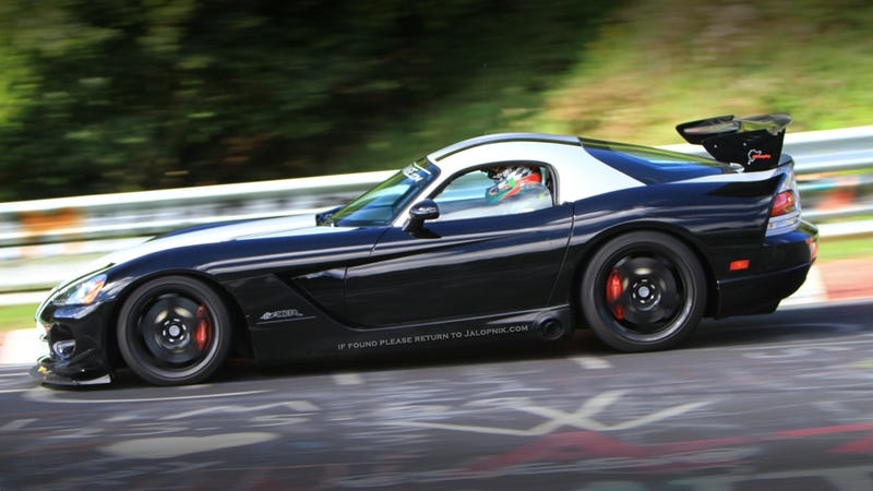 Dodge Viper ACR sets new Nürburgring lap time of 7:12...and some change