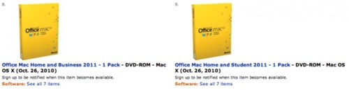 Office For Mac 2011 Arriving October 26, Says Amazon