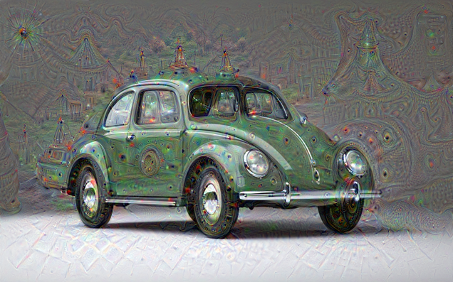 This Is How Google's Dreaming Robot Sees Cars