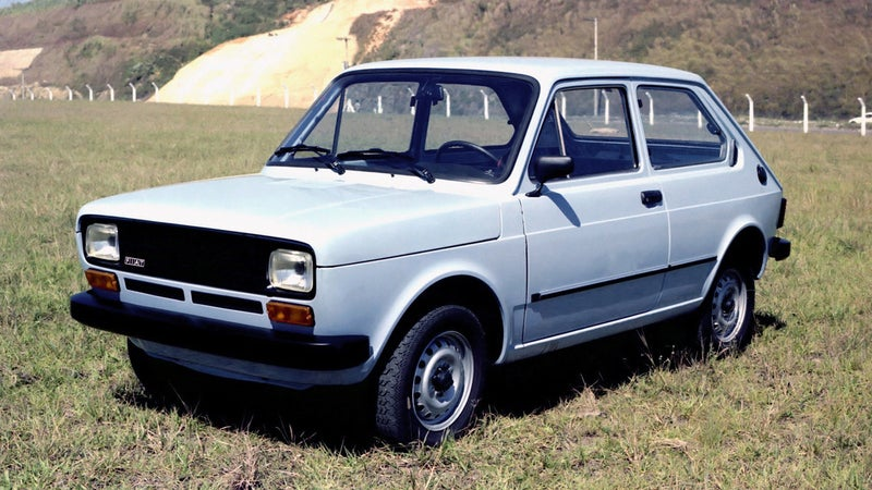 The First Mass Produced Alcohol Car Was Of Course A Fiat