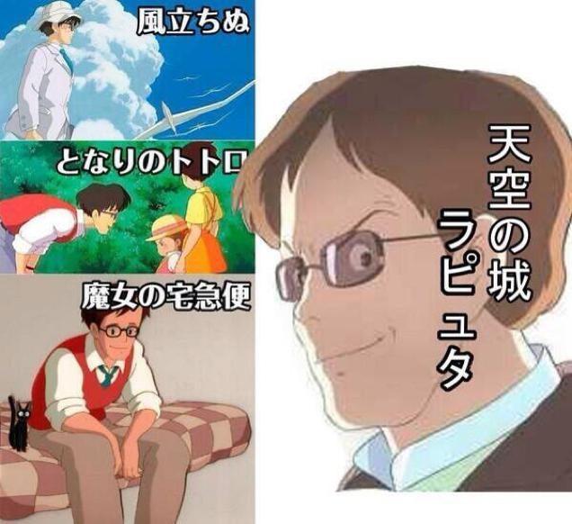 Studio Ghibli Characters Sure Look the Same