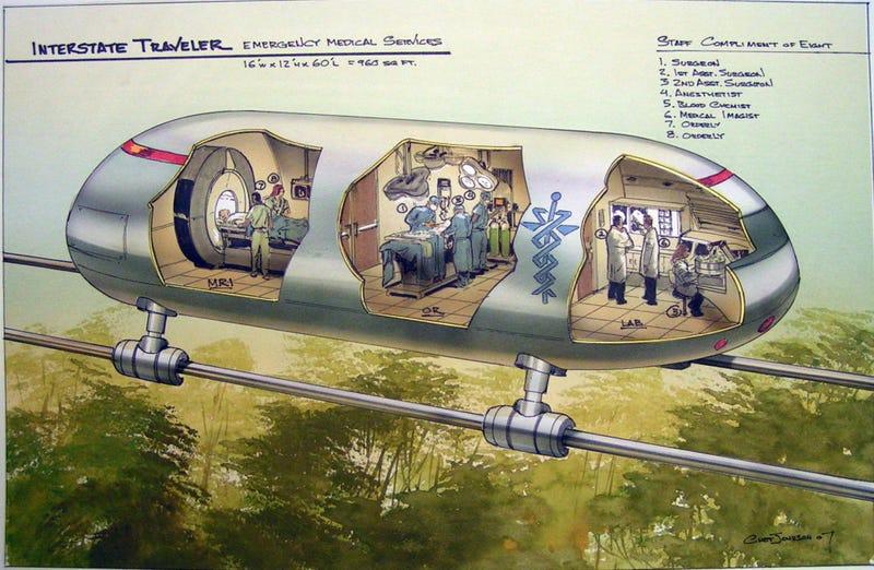Lyle Lanley Sells Futuristic Rail System to Ann Arbor, Detroit