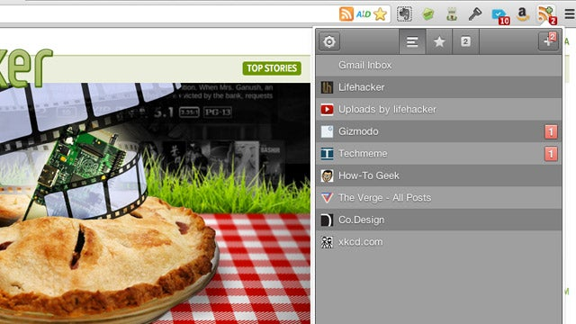 Feeder Is a Mini Google Reader That Sits in Your Chrome Toolbar