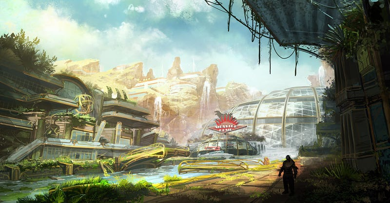 The Colorful Concept Art Of Bulletstorm
