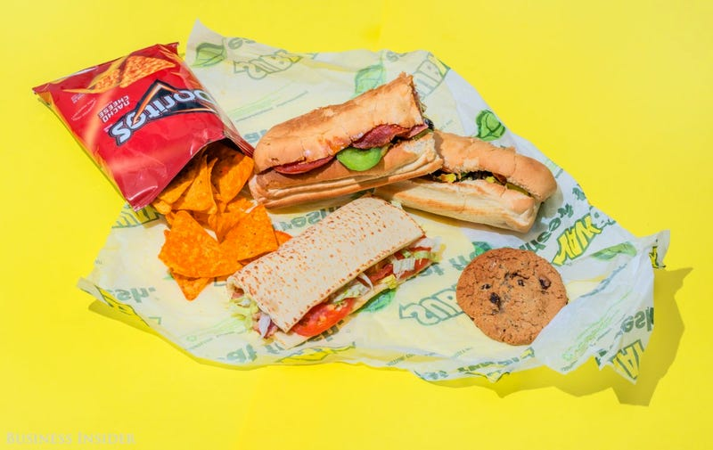 What a Day's Worth of Calories Looks Like in Fast Food