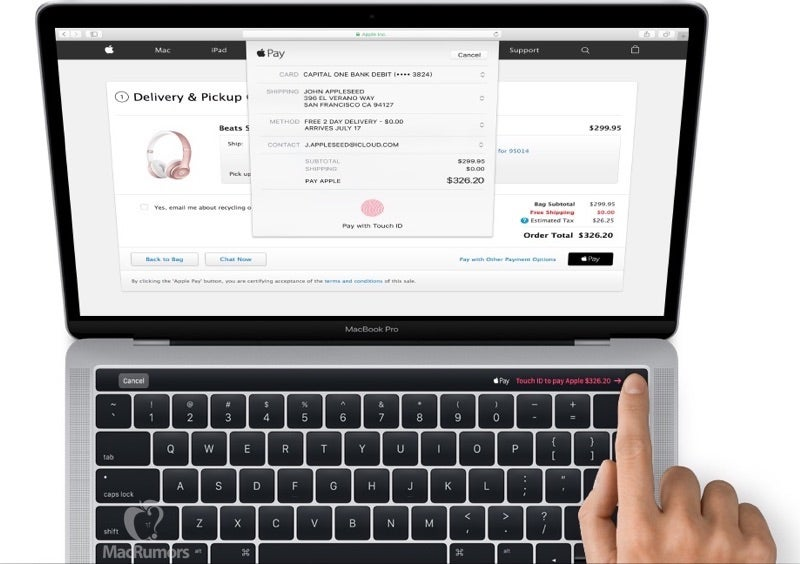 New MacBook Pro Leaked in Latest Version of MacOS