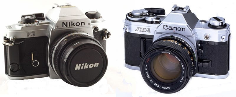 Weekend Flame War: Canon or Nikon?