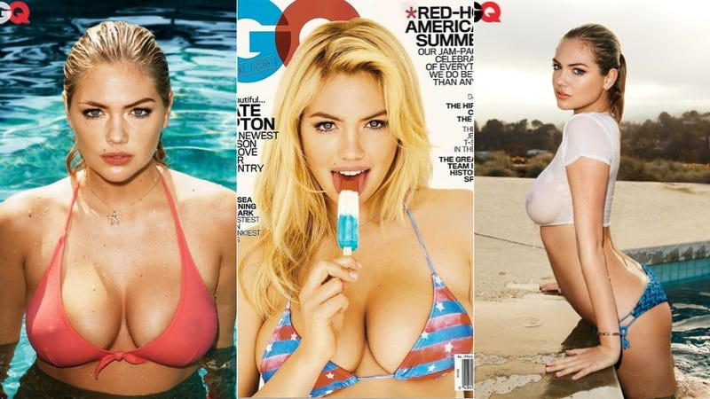 Kate Upton Tells GQ About That Time Her Top Fell Off