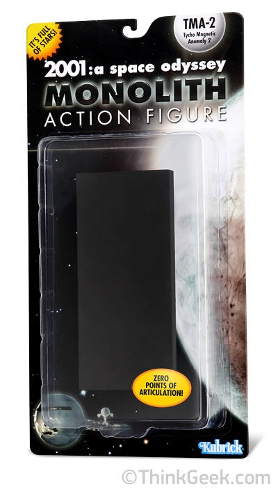 2001: A Space Odyssey Monolith Action Figure Will Leave Your Other Toys in Cosmic Awe