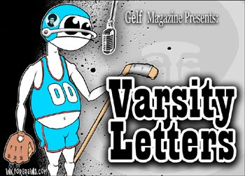 Great Sportswriters Will Read Aloud In A Bar At Tonight's Varsity Letters