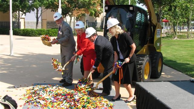 "The Traditional ""Turning of the LEGO Bricks"" Ceremony"